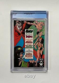 Marvel Comics Présente Le Numéro 77 Cgc 9.8 1991 Arme Bws X Wolverine Chapitre 5