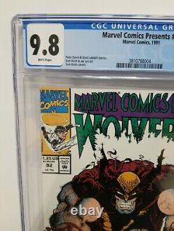 Marvel Comics Présents 92 Cgc 9,8 Nm/mt Wolverine, Ghost Rider, Sam Kieth Cover