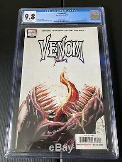 Marvel Comics Venom # 3 Cates Cgc 9.8 1er Knüll Première Apparition