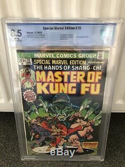 Marvel Special Edition # 15 (première Apparition De Shang Chi) Cbcs 8.5