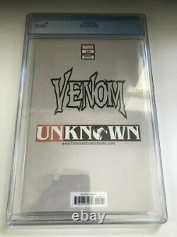 Marvel Venom #26 Unknown Comics Virgin Edition 1ère App'virus' 9.8 Cgc