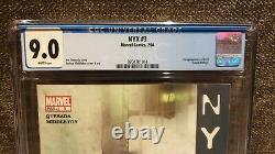 Nyx 3 Cgc 9.0 Premier X23 Marvel Comics Scarce Hot