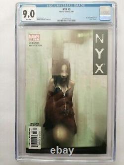 Nyx 3 Cgc 9.0 Première X23 Marvel Comics