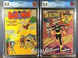 Première Apparition Batgirl Detective Comics 359 Batman 139 1er Gordon Kane Cgc Lot
