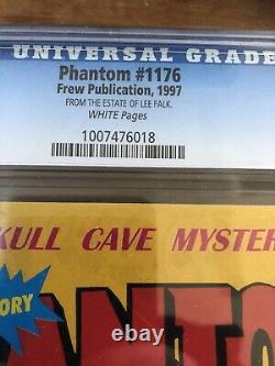 Rare Cgc 8.0 Le Phantom Comic #1176 Certifié De Lee Falk Personal Estate