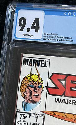 Sectars #1 Cgc 9,4 Rare Double Couver Marvel Comics 1985 Coleco Action Figure