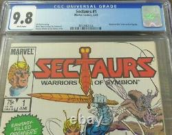 Sectars #1 Cgc 9,8 (06/1985) Marvel Comics Coleco Action Figure