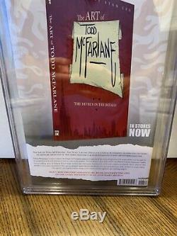 Spawn # 228 Cgc Ss 9.6 Todd Mcfarlane Signé Action Comics 1 Hommage Couverture Nm