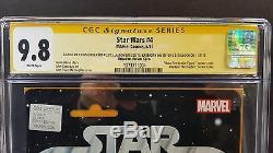 Star Wars # 4 Cgc Ss 9.8 Boba Fett Action Figure Variant Signé Jeremy Bulloch