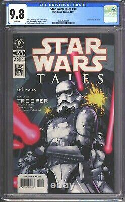Star Wars Tales #10 Cgc 9.8 (2001) Leinil Francis Yu Couverture Rare Comic Book