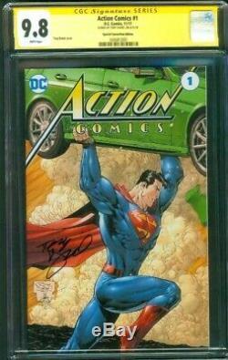 Superman Action Comics 1 Ccg 9.8 Ss Tony Daniel Convention Spéciale Variante Ed