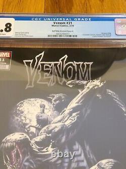 Venme #31 Inconnu Couverture Exclusive De La Variante Dell'otto De Comics A+b Cgc 9,8 W Coa