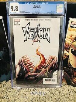 Venom #3 1ère App De Knull Cgc 9.8 ! + #4 Origin #7 1er Dylan Comic Lot