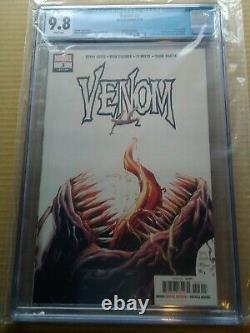 Venom #3 1ère Apparition De Knull, 1ère Impression, Toute Nouvelle Affaire, Cgc 9,8