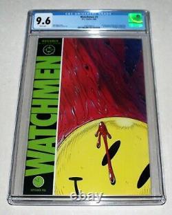 Watchmen #1 Cgc 9.6 DC Comics 1986 Principaux Numéro Alan Moore Beaucoup De 1ère Apparition