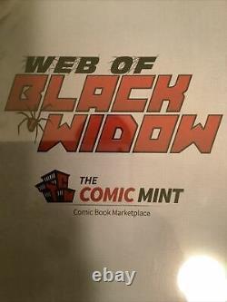 Web Of Black Widow #1 Shannon Maer Virgin Variante Cgc 9.8 Marvel Comics