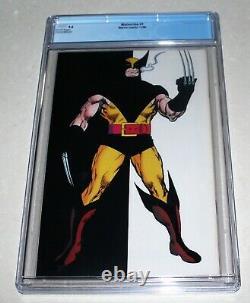 Wolverine #1 Cgc 9.6 Marvel Comics 1988 1ère Wolverine En Patch White Pages
