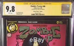 Zombie # 46 Tramp Cgc Ss 9.8 Bill Mckay Action Lab Limited Edition Comics Erotisme